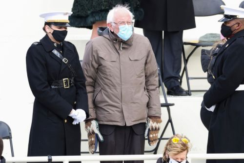 Bernie Sanders' Fair Isle Mittens Made The Internet Brrn-& You Can Score A Pair
