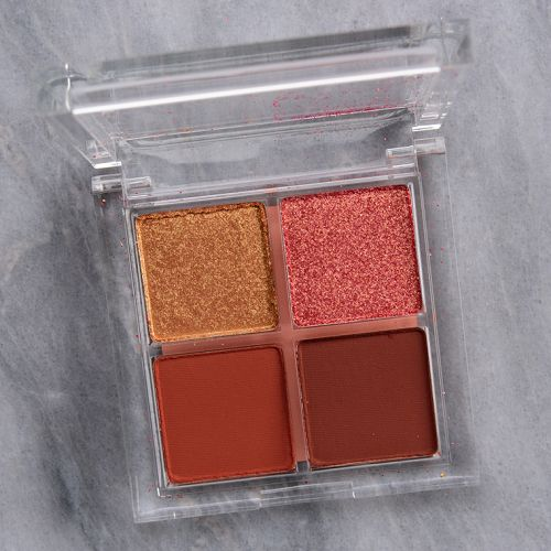 ColourPop Mocktail Eyeshadow Quad Review & Swatches