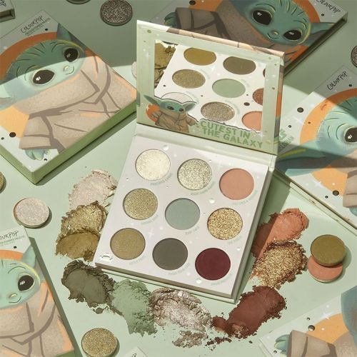 ColourPop x The Mandalorian The Child Palette Launches October 28th!