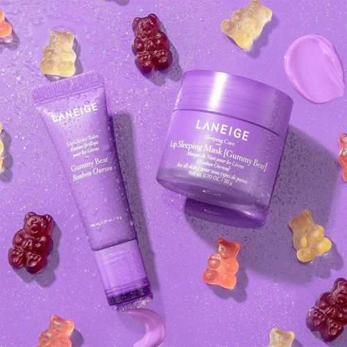 Laneige Gummy Bear Sleeping Mask & Lip Glowy Balm for Fall 2020