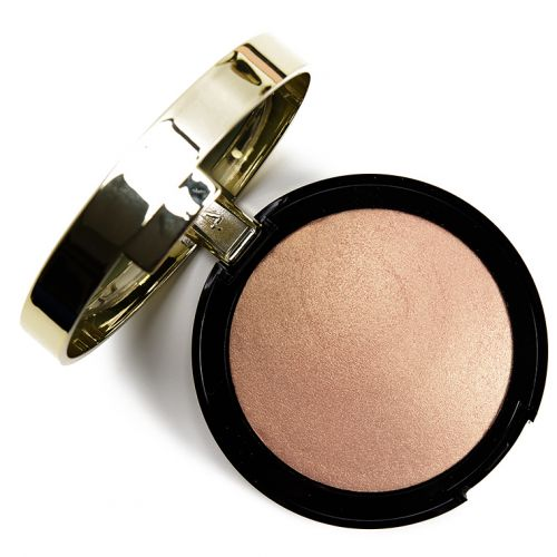 Milani Champagne d'Oro Baked Highlighter Review & Swatches