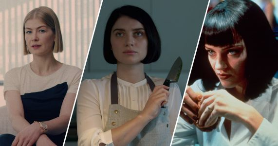 How the Blunt Bob Haircut Became the Uniform For Strong Women Characters in Twisty Thrillers