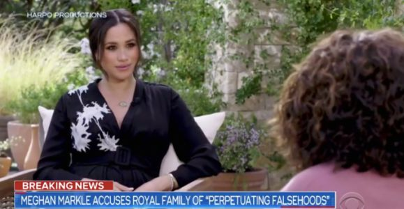 Fans Think Meghan Markle's Eyeliner Is Reminiscent Of Princess Diana's Makeup