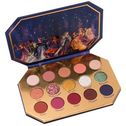 ColourPop x Disney Midnight Masquerade Palette Review & Swatches