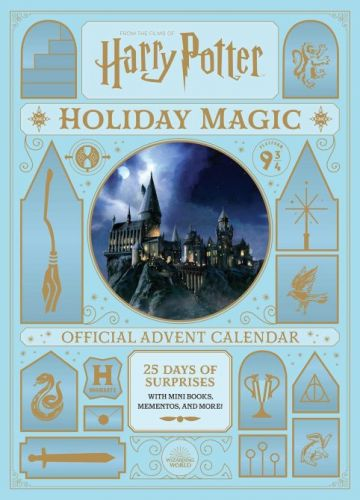 There's a 'Harry Potter' Advent Calendar & It Includes Ornaments For Each Hogwarts House