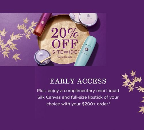 Tatcha Black Friday Sale 2020 - Early Access!