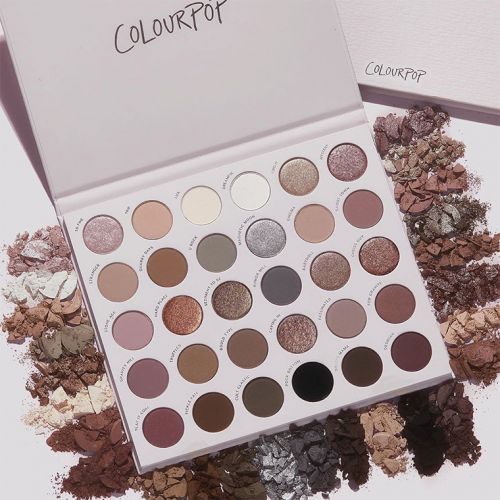 ColourPop Stone Cold Fox Palette + Ultimate Brush Roll for Holiday 2020