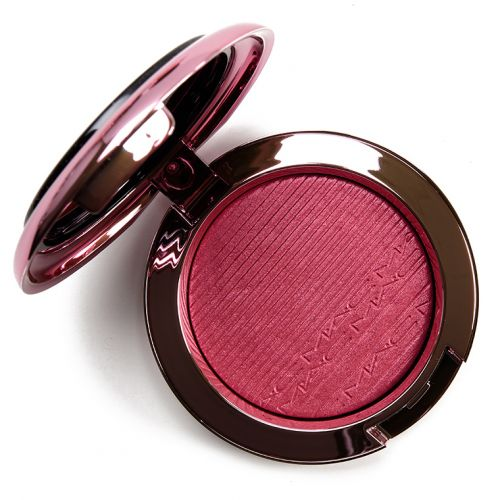 MAC Under My Plum Extra Dimension Blush Review & Swatches