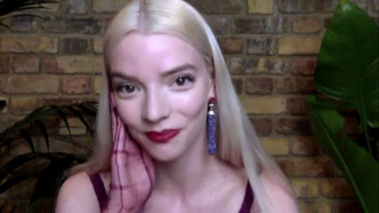 Anya Taylor-Joy Did Her Own Makeup For the Critics' Choice Awards Like the Queen She Is