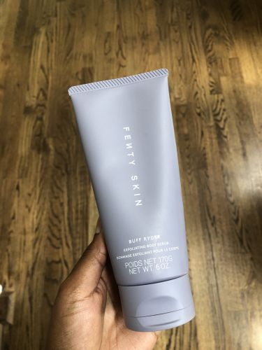 I Tried Fenty Skin's New Body Scrub, and My Only Complaint Is That I Need Another Bottle
