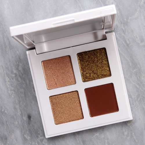 Makeup by Mario Bronzy Glam Eyeshadow Quad Review & Swatches