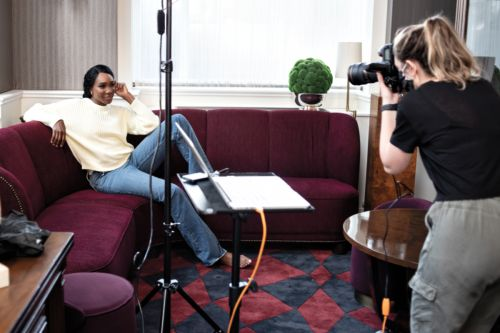 Game, Set, Match: Behind the Scenes of Our Winter Issue with Cover Star Venus Williams