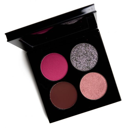 Pat McGrath Risque Rose Celestial Divinity Luxe Eyeshadow Quad Review & Swatches
