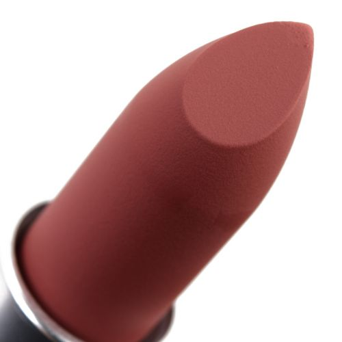 MAC Teddy 2.0, Sheer Outrage, Brickthrough Powder Kiss Lipsticks Reviews & Swatches