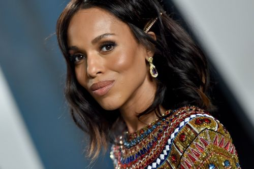 Kerry Washington Hit the Biden-Harris Campaign Trail With This Voting-Themed Nail Art