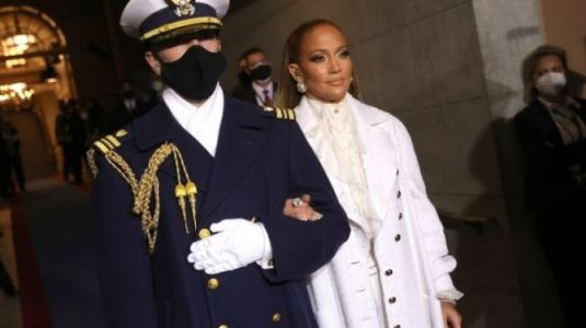Jennifer Lopez Wore Suffragette White As the First Woman Is Sworn In as Vice President