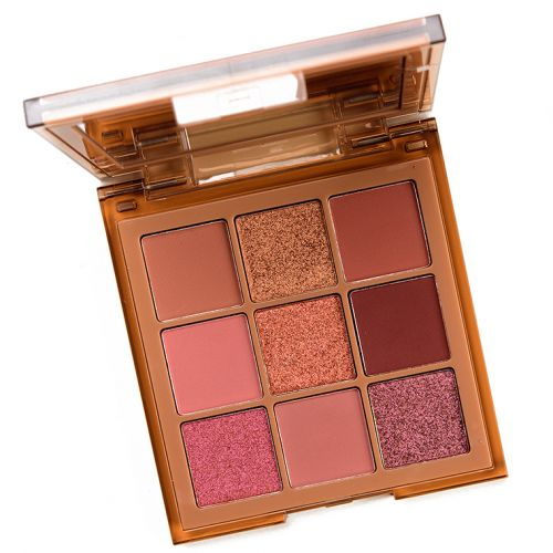 Huda Beauty Nude Medium Obsessions Eyeshadow Palette Review & Swatches