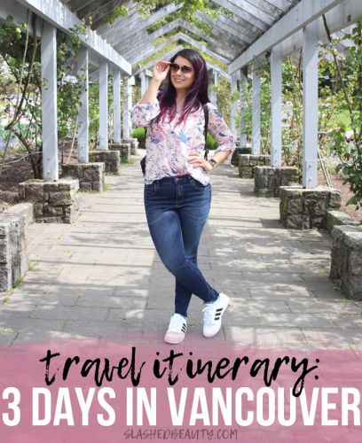 Travel Itinerary: 3 Days in Vancouver
