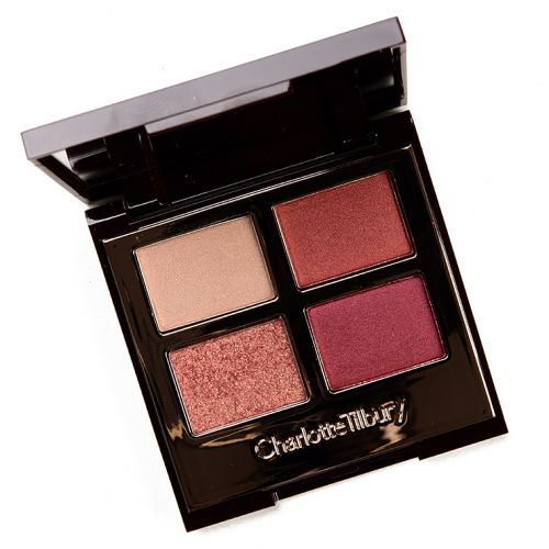 Charlotte Tilbury Walk of Shame Eyeshadow Quad Review & Swatches