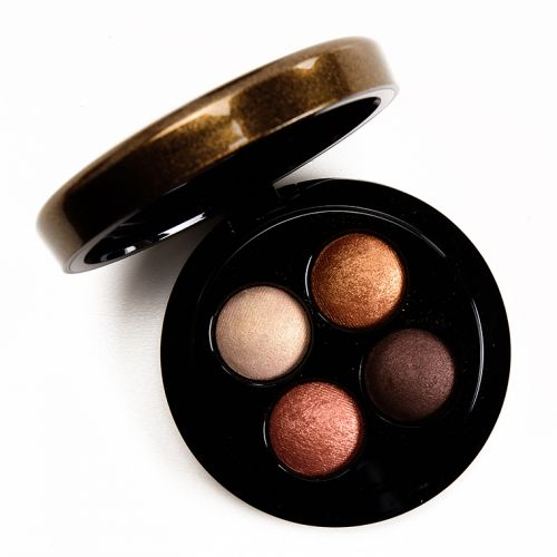 MAC x Jade Jagger Golden Shine Mineralize Eyeshadow Quad Review, Photos, Swatches