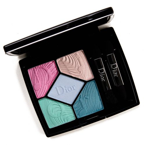 Dior Blue Beat (327) Eyeshadow Palette Review & Swatches