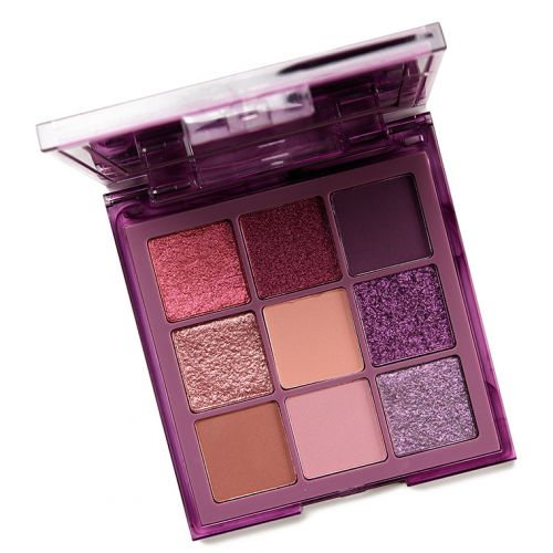 Huda Beauty Purple Haze Obsessions Eyeshadow Palette Review & Swatches