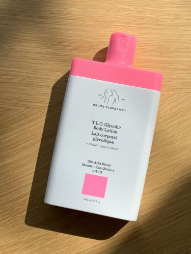 Drunk Elephant's New T.L.C. Glycolic Body Lotion Makes Dull, Dry Skin a Thing of the Past