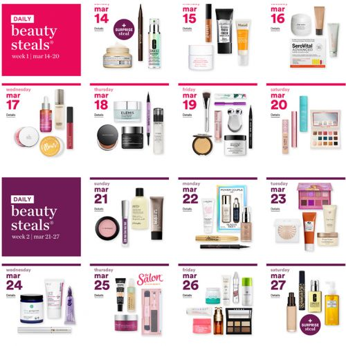 Ulta's 21 Days of Beauty 2021: March 14th thru April 3rd