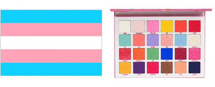 Pride Makeup Inspired by LGBTQ+ Flags