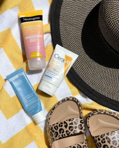 Sunscreen Roundup, Part 1: Neutrogena Invisible Daily Defense Lotion Sunscreen Broad Spectrum SPF 60+, CeraVe Hydrating Mineral Sunscreen SPF 30 Sheer Tint and Paula's Choice Youth-Extending Daily Hydrating Fluid Broad Spectrum SPF 50