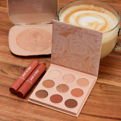ColourPop Nude Mood Collection Swatches