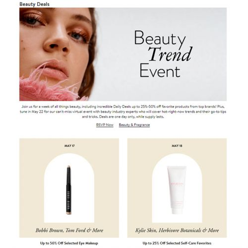 Nordstrom Beauty Trend Event: May 2021