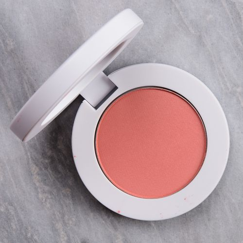 Makeup by Mario Creamy Peach Soft Pop Powder Blush Review & Swatches