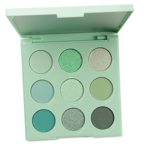 ColourPop Mint to Be Eyeshadow Palette Review & Swatches