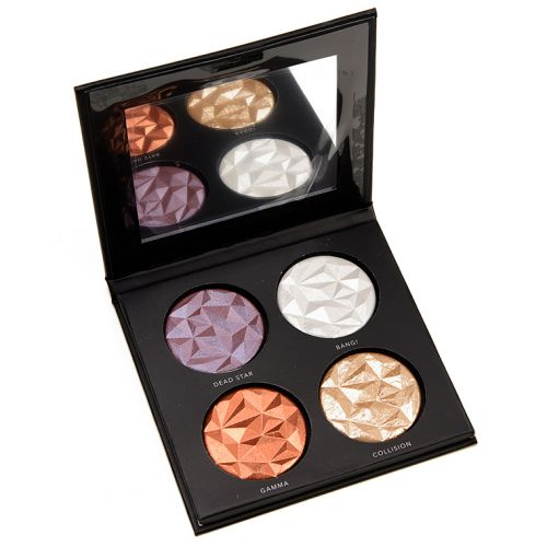 Linda Hallberg Metallic Mysteries Eyeshadow Quad Review & Swatches
