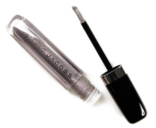 Marc Jacobs Silver Surf, Electric Lites, Get Lucky Enamored Hi-Shine Lip Lacquers Reviews & Swaatches