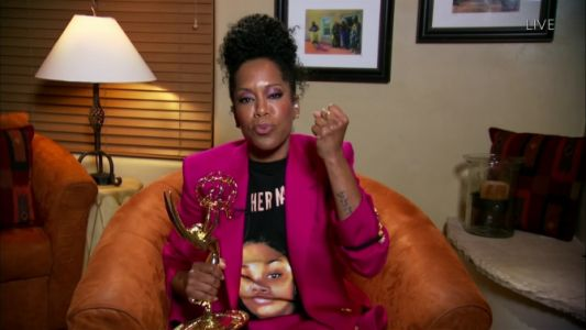 Regina King & Uzo Aduba's Breonna Taylor Tees Are The Only Emmys Looks That Mattered